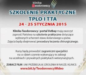 Szkolenie Praktyczne TPLO i TTA 24-25.01.2015